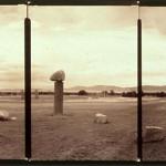 Paula Castillo Sculpture: concrete and granite, 100 x 100 x 16 ft, 2001. New Mexico
