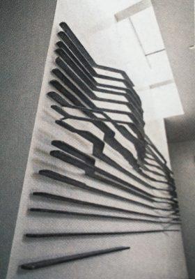 "the boat. aluminum, 24' x 10' x 10"", 2015"