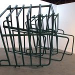 The Tunnel. repurposed horse fencing, 20' x 7' x 5', 2012