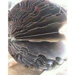 In progress, 6'x 6' x 6', laser cut mild industrial steel, 2014, Icheon, South Korea.